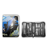 8 Piece Batman Nail Manicure/Grooming Kit Thumbnail 1