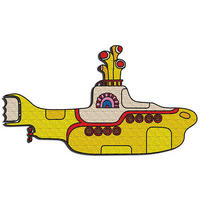 The Beatles Yellow Submarine Embroidered Iron-On Patch