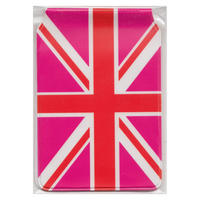 Union Jack (Pink) Travel/Oyster Card Holder Thumbnail 2