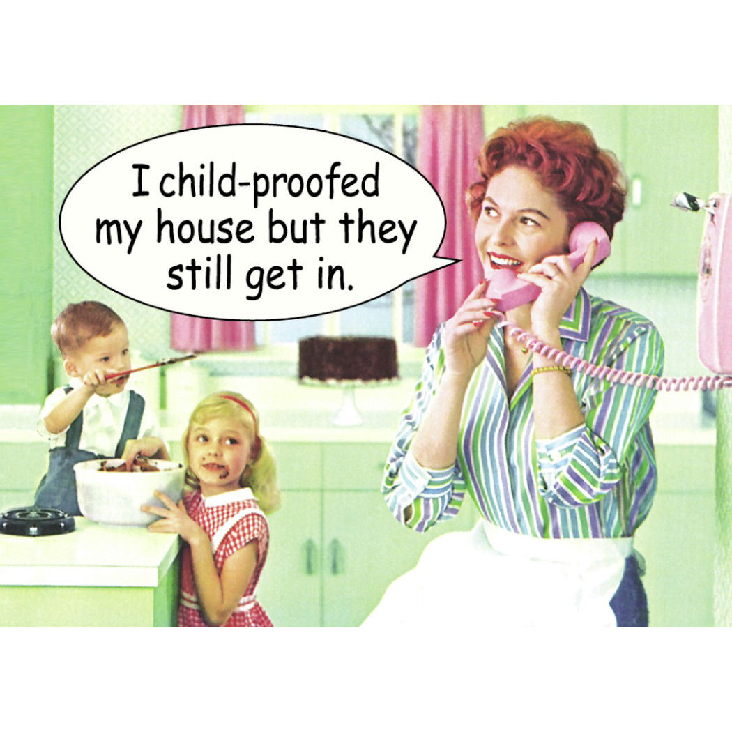 Quot I Child Proofed My House But They Still Get In Quot Fridge