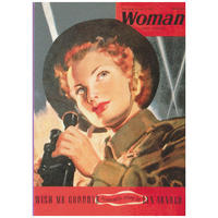 Woman Magazine 'Warden' Postcard