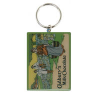 Cadbury's Milk Maid Metal Keyring