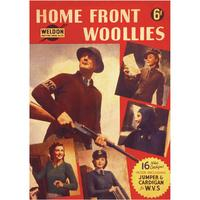 Home Front Woollies Postcard