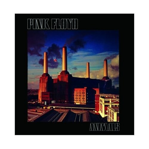 Pink Floyd Animals Album Cover Greeting Card Official 60s Waters