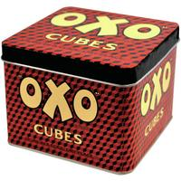 Small OXO Cubes Tin Canister