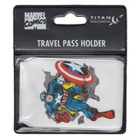 Captain America Issue 109 Classic Cover Travel/Oyster Card Holder Thumbnail 2