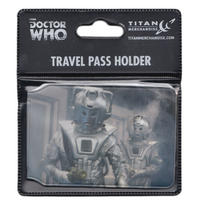 Doctor Who (Classic Cyberman Duo) Travel/Oyster Card Holder Thumbnail 2