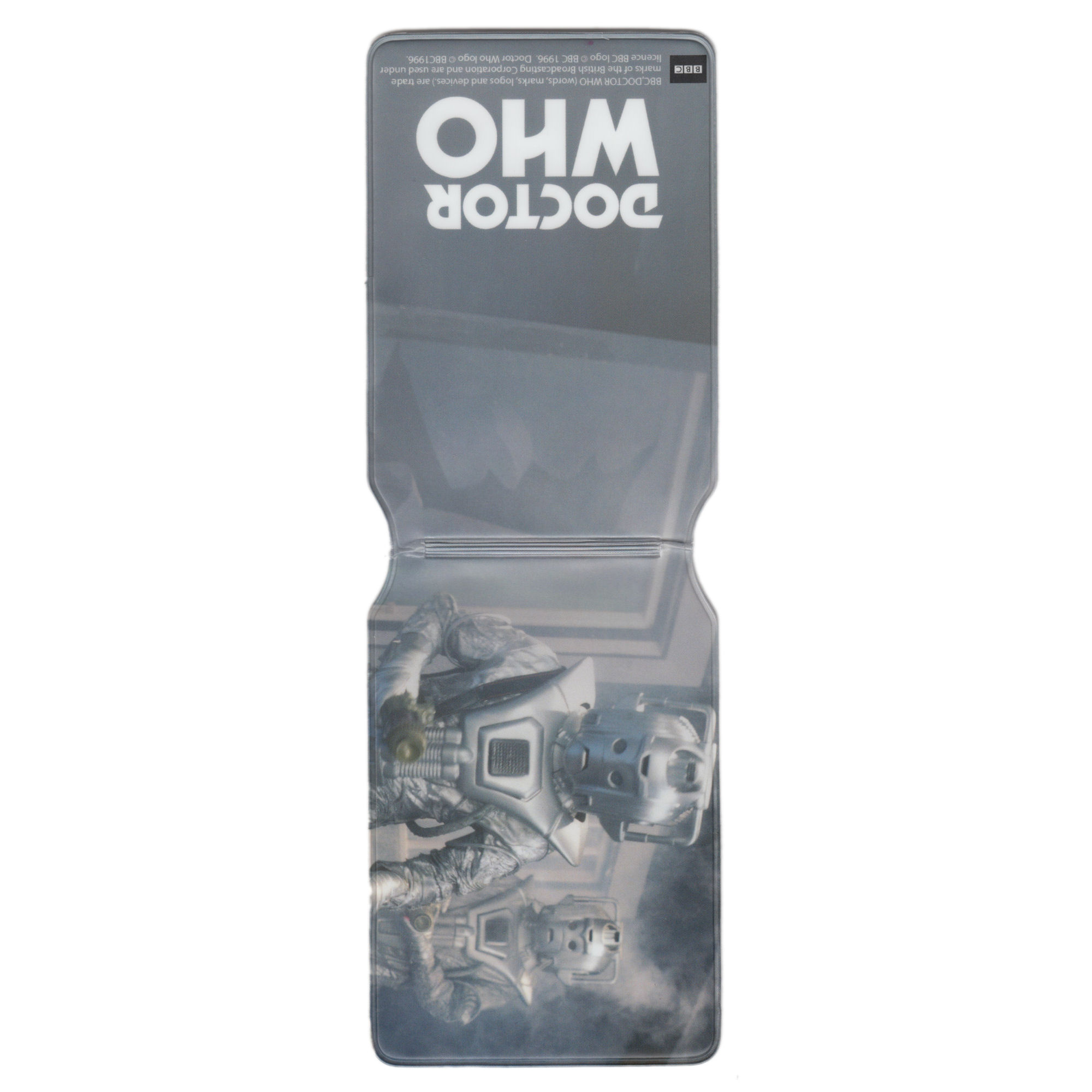 Doctor Who (Classic Cyberman Duo) Travel/Oyster Card Holder