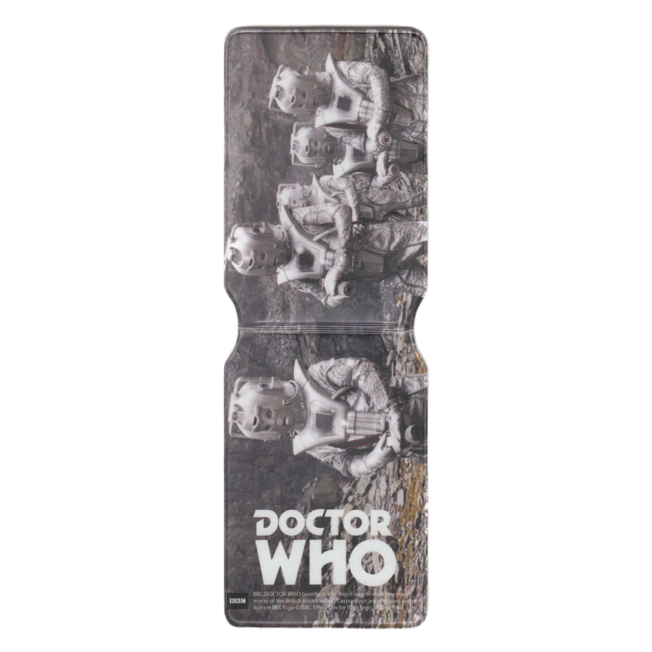 Doctor Who (Classic Cyberman Planet Surface) Travel/Oyster Card Holder