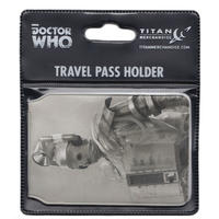 Doctor Who (Classic Retro Cyberman) Travel/Oyster Card Holder Thumbnail 2