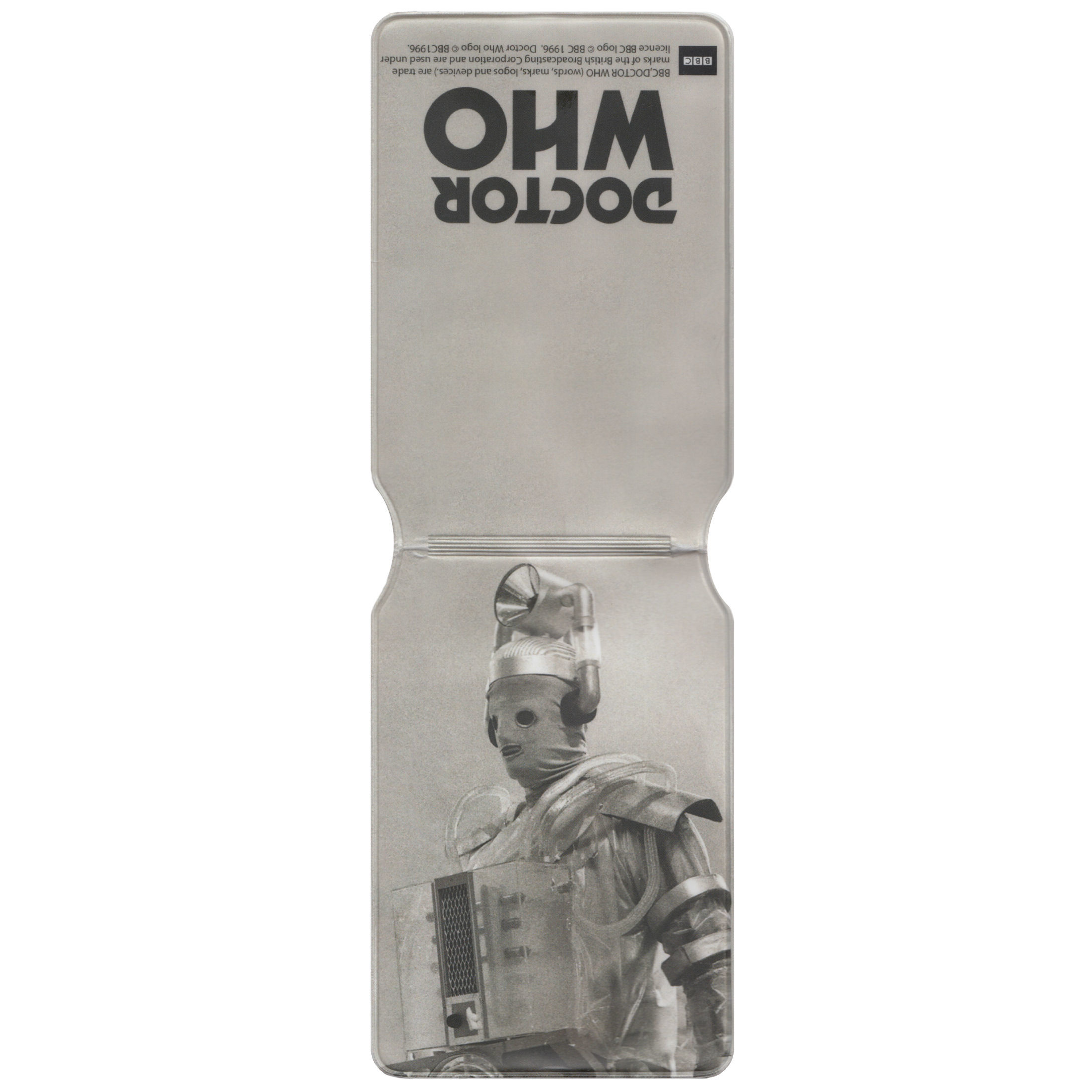Doctor Who (Classic Retro Cyberman) Travel/Oyster Card Holder