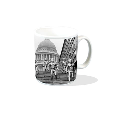 Doctor Who (Classic Cyberman St Paul?s) Mug