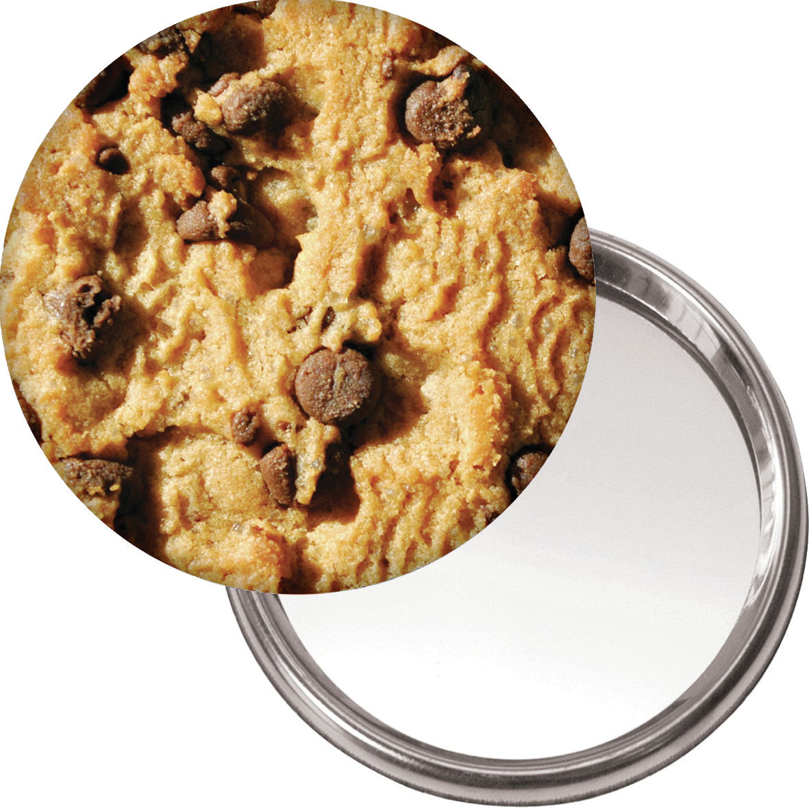 Chocolate Chip Cookie Handbag/Button Mirror