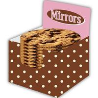 Chocolate Chip Cookie Handbag/Button Mirror Thumbnail 2