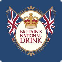 Britain's National Drink Mug & Coaster Set In A Tin Thumbnail 3