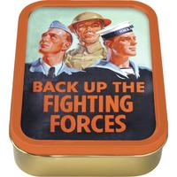 Back up the fighting forces Collectors Tin