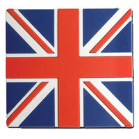 Union Jack PVC Fridge Magnet Thumbnail 1