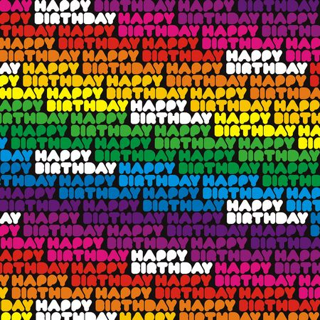 NEW 3 SHEETS HAPPY BIRTHDAY RAINBOW MULTI COLOURED GIFT WRAP WRAPPING PAPER FUN