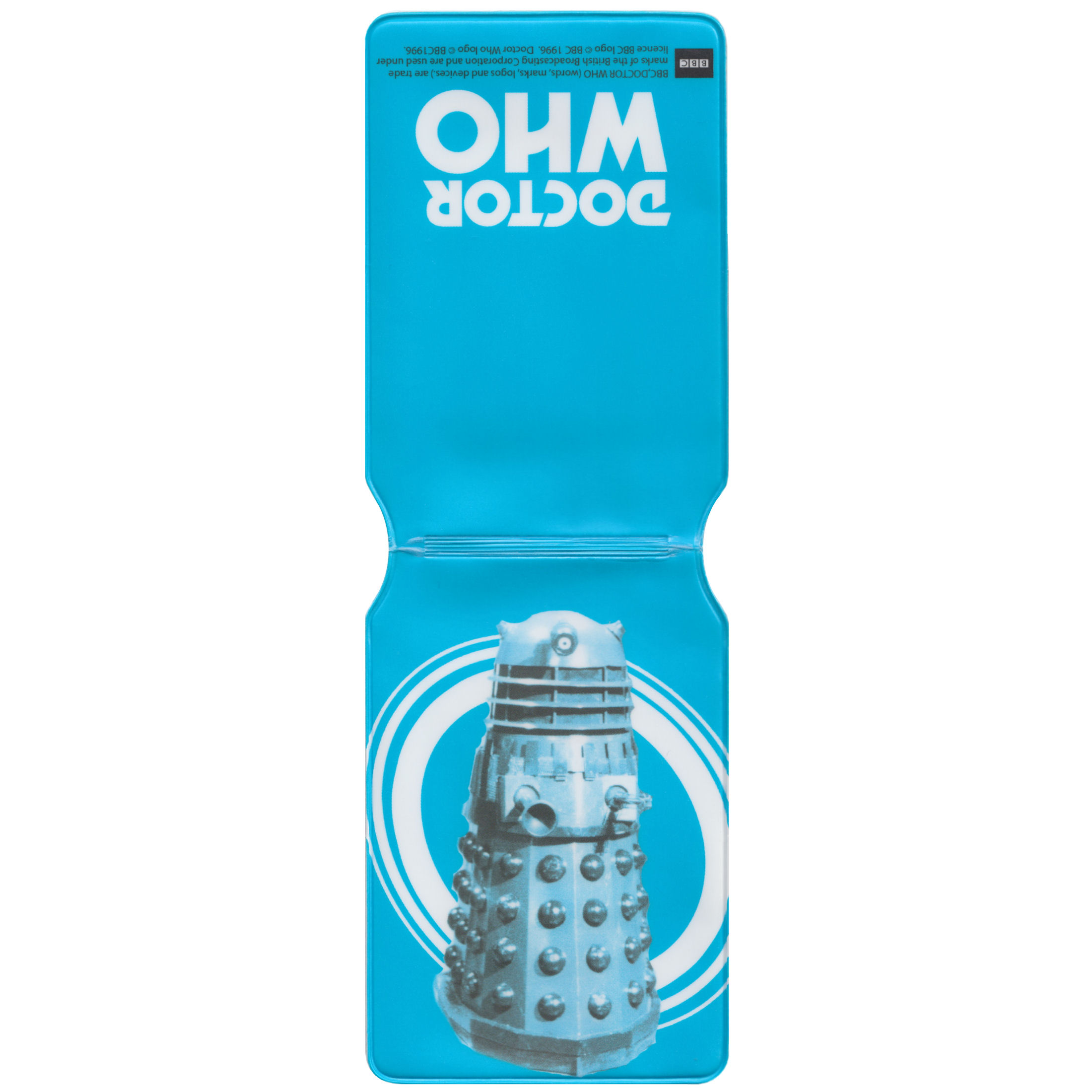 Doctor Who (Blue Pop Art Dalek) Travel/Oyster Card Holder