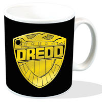Judge Dredd Shield Mug