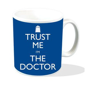 "Doctor Who ""Trust Me I'm The Doctor"" Mug"