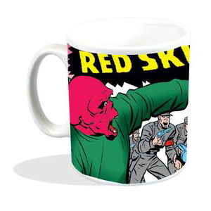Captain America & Bucky Vs The Red Skull Mug