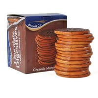 Chocolate Digestives Ceramic Money Box Thumbnail 2