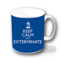 "Doctor Who ""Keep Calm And Exterminate"" Mug Thumbnail 1"