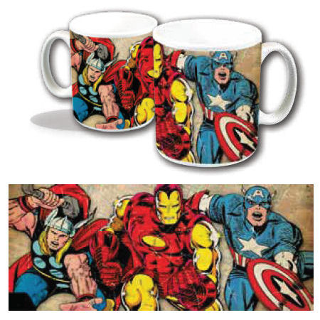 Thor, Iron Man, & Captain America Mug