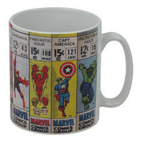 Marvel Vintage Comic Corners Mug