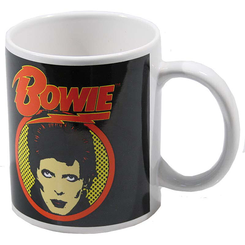 David Bowie Flash Logo Mug