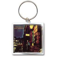 David Bowie Ziggy Stardust Album Cover Metal Keyring Thumbnail 1