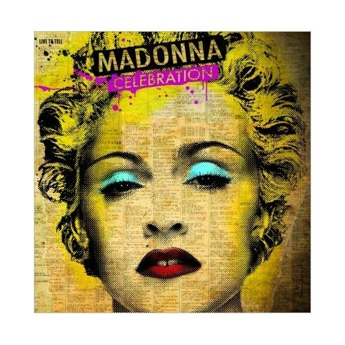 Madonna Celebration Greeting Card Madge Music Official Pop Blank
