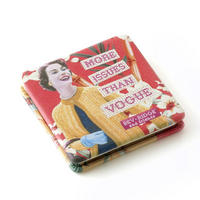 "Bev Ridge & Friends ""More Issues Than Vogue"" Square Compact Mirror Thumbnail 2"