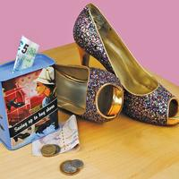 Saving Up To Buy Shoes Tin Money Box Thumbnail 3