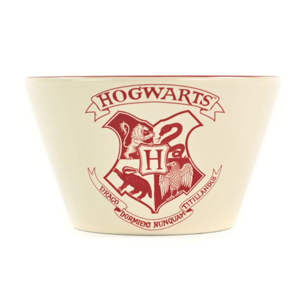Harry Potter Hogwarts Crest Ceramic Bowl