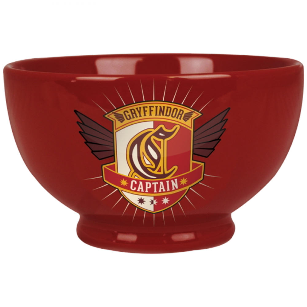 Harry Potter Gryffindor Captain Ceramic Bowl