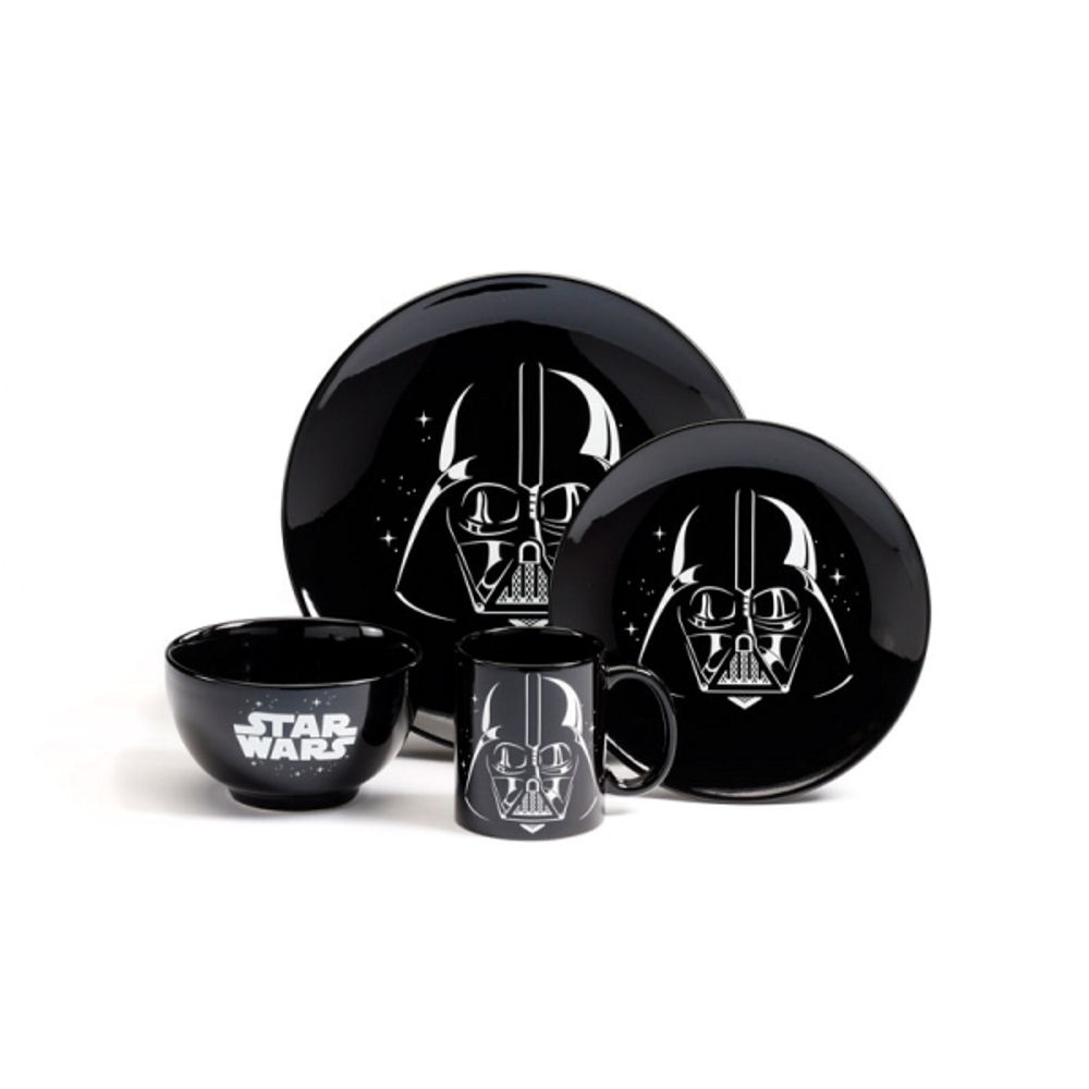 Star Wars Darth Vader 4 Piece Dinner Set
