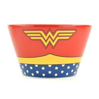 Wonder Woman Costume Ceramic Bowl