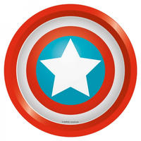 Captain America Shield Round Tin Tray Thumbnail 1