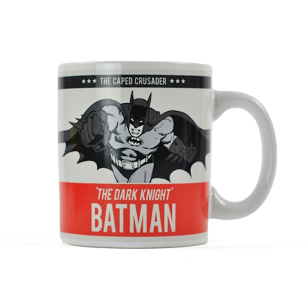 Team Batman The Caped Crusader Mug
