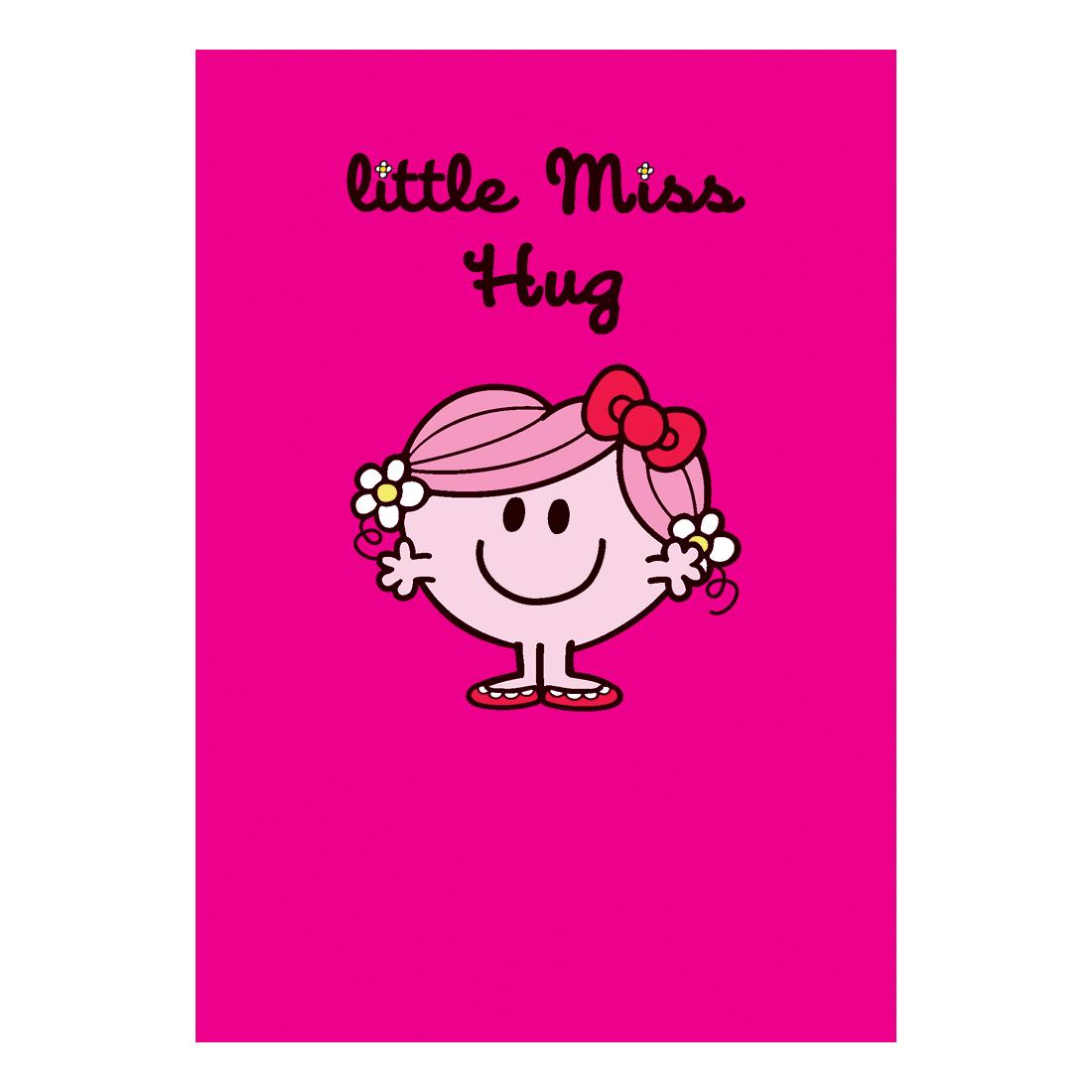 Little Miss Hug Greeting Card Cards Wrap Gift Bags Kitschagogo