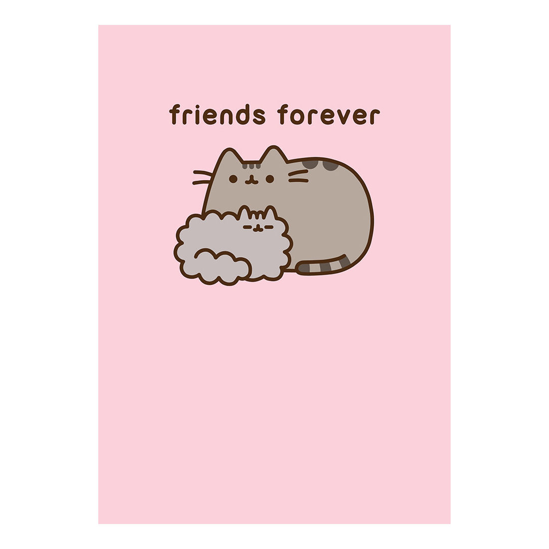 Pusheen Friends Forever Greeting Card Cards Wrap Gift Bags