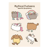 Mythical Pusheens Greeting Card