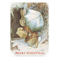 Beatrix Potter Benjamin Bunny Christmas Card Thumbnail 1