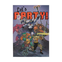 "Masters of the Universe ""Let's Party!"" Greeting Card"