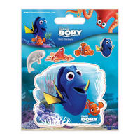 Finding Dory Sheet of 5 Vinyl Stickers Thumbnail 1