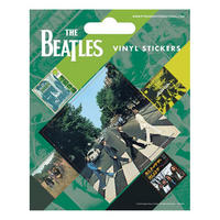 Beatles Abbey Road Set of 5 Vinyl Stickers