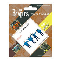 The Beatles Help Set of 5 Vinyl Stickers