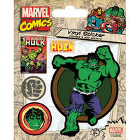 Incredible Hulk of 5 Vinyl Stickers